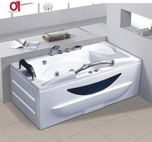 AD-688 High quality with stainless steel armrest bathtub bath tubs best price malaysia Whirlpool spa bathtub