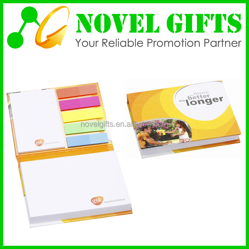 Promotion Gifts Sticky Memo Note Pad Paper Dispenser