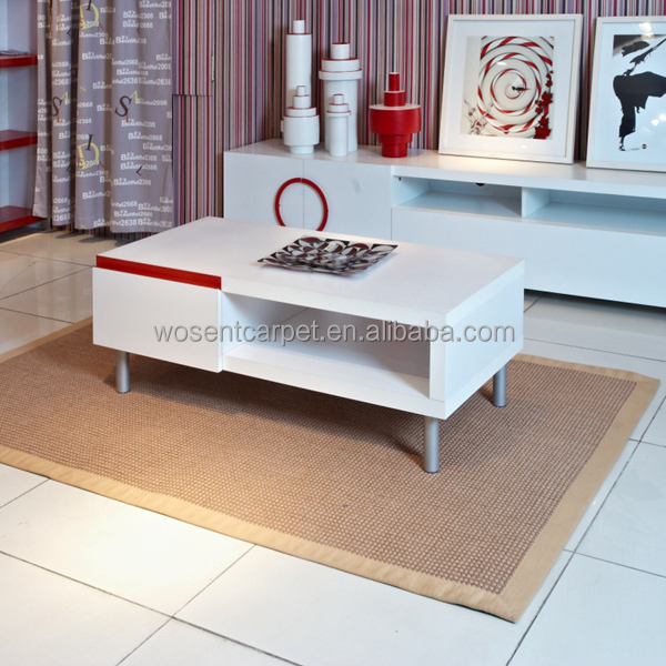 Drawing Room Carpets and Rugs Sisal Customized Size Carpet