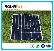 40W Marine Semi Flexible Monocrystalline Silicon Solar Panels