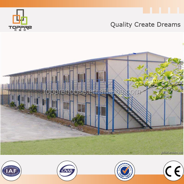 Customized economical steel frame prefabricated house modular home mobile houses made in China for Iran
