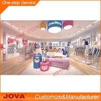 nice baby clothes store design
