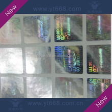 Hologram stickers protected brand and product from counterfeiting