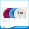 High elastic swim hats, swimming cap, Silicone swim cap for adult