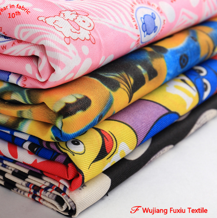 2/2 twill 300D mini matt 100% polyester minimat printed fabric for table cover