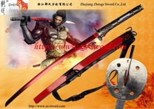 game anime Metal Gear Rising: Revengeance cosplay Minuano steel red sword