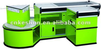 automatic cashier table with sloping board