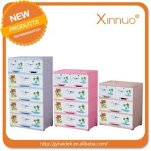 Plastic storage cabinet with wheels small cabinet with many drawers for putting baby clothes