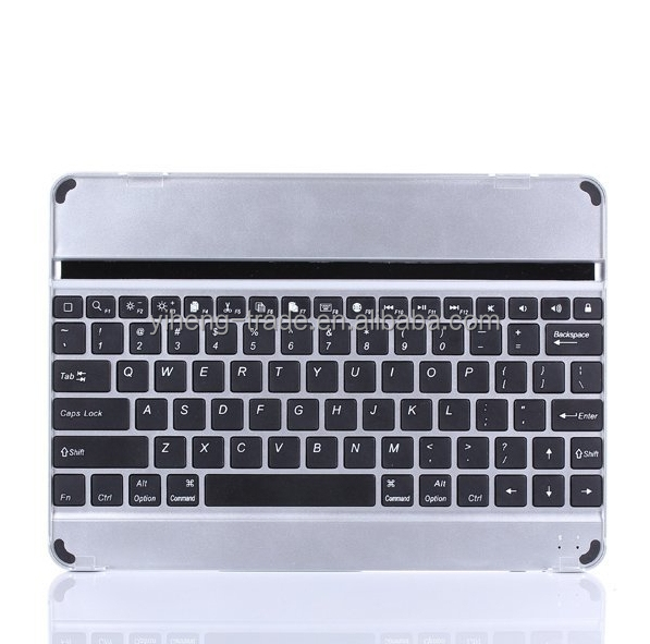 Aluminum Wireless Bluetooth Keyboard unti Slim for iPad Samsung Galaxy Tab PC Laptop