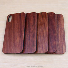2018 ECO-Friendly PC Hard Wood For iPhone X Case, Custom Wood For iPhone Case,Handmade for iphone x case luxury