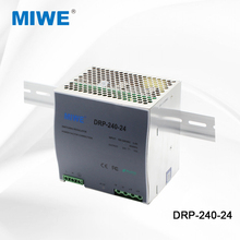 CE FCC RoHS certificate DR-240-24 din rail 24v 10a 240w smps led power supply
