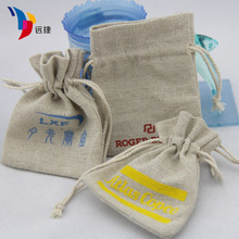 Eco packing bags cheap hemp gift bag