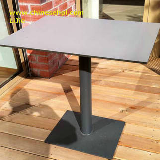 outdoor restaurant table tops / exterior compact laminate material