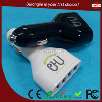 CE FCC Rohs approved OEM available brand new high quality universal 4 usb charger for iphone
