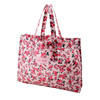 2014 fashionable ladies colorful flower patterned bulk reusable shopping tote bag,handbag manufacturers china