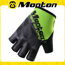 2016 Short Finger Padded Bicycle Gloves JAT Green