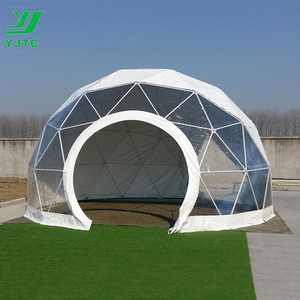 Dia 6.3m Luxurious Geodesic Dome Tent For Event
