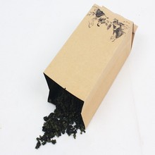 Side Gusset Kraft Paper Bag Manufactuers, Kraft Packing Foil Bag For Tea Leaf
