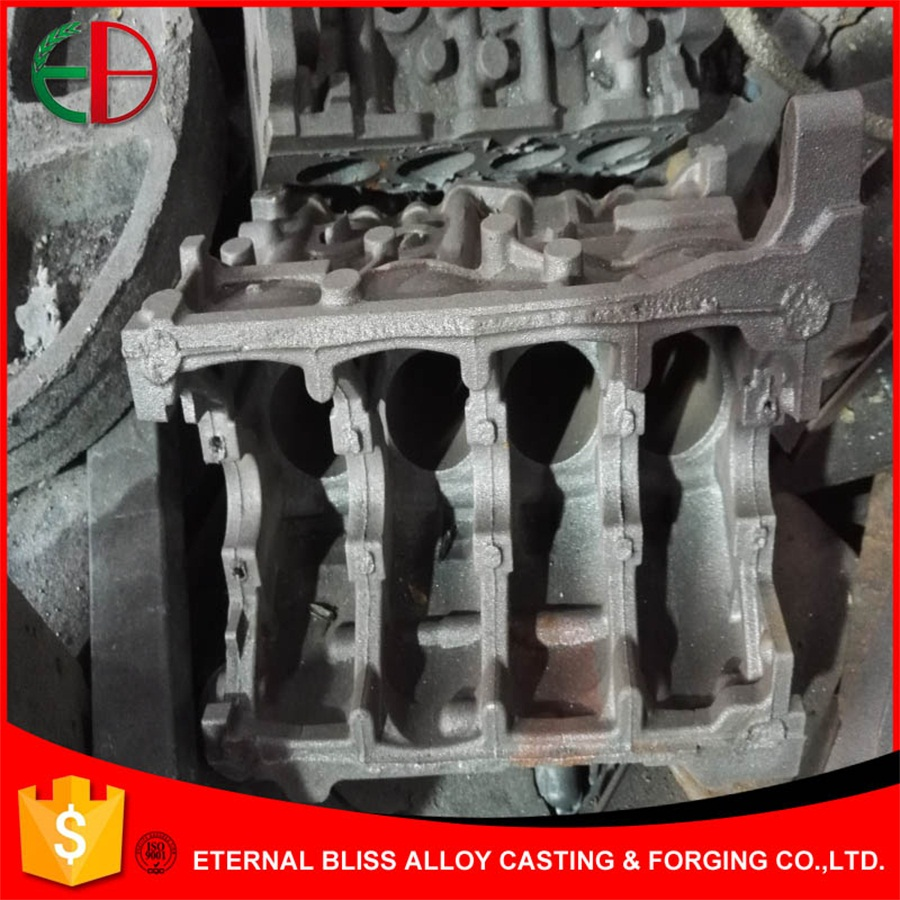 Complicated Large Component Ductile Iron & Gray Iron Castings with Shell Cast Process EB9091