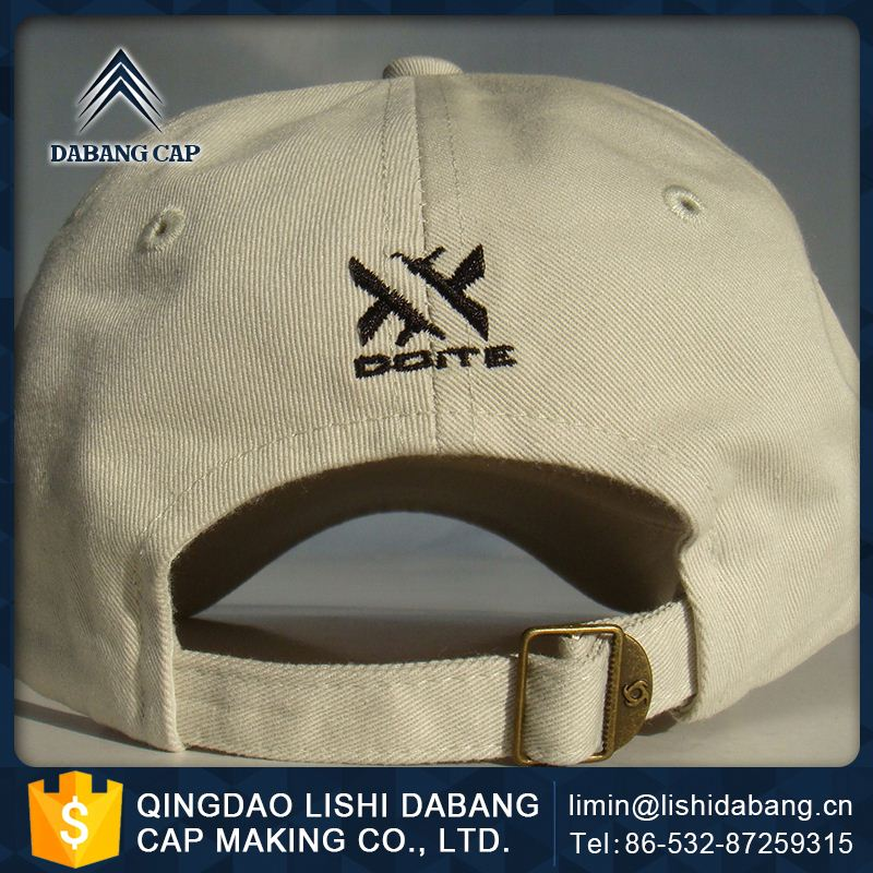 Customize High Quality Stone ball army blue washed military cap
