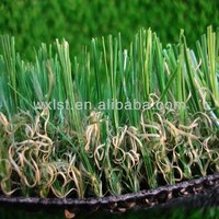 Pile Height 15mm-50mm football 3/8 inch 1/2 inch Gauge 4 colour multi Artificial Grass For Sports Gardon and Leisure