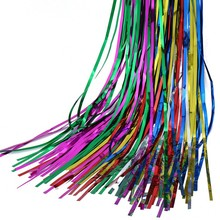 Huandi Christmas Craft Fringe Tinsel Curtains Decoration For Home