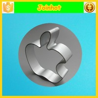Perfect apple shaped biscuit fondant cookie cutter press