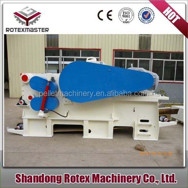 Diesel engine small wood chipper, wood cutting machine