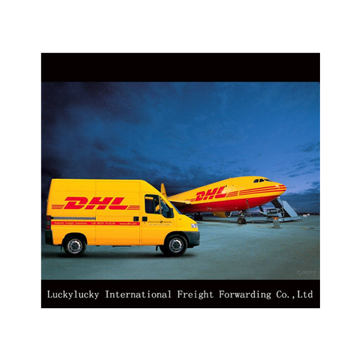 courier express DHL air freight rates from China to Winnipeg