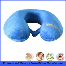 Best Price of Memory Foam Massaging Travel Neck Pillow As Seen On TV
