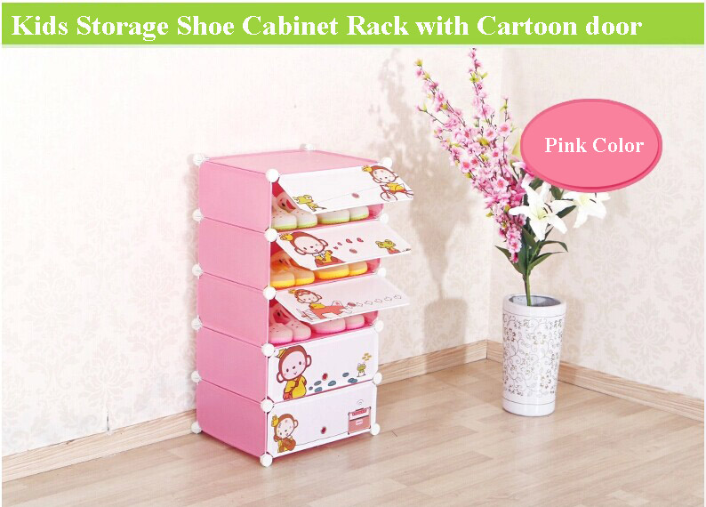 New Design Shoe Rack Cabinet For Kids Room Funiture To Hold About 54 Pairs  Shoes(