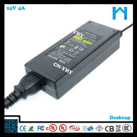 220v ac 24v dc switching power supply ce ac dc adapter 96w plc power supply 4A