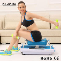 New Electric Vibration Machine Crazy Fit Massage Manual