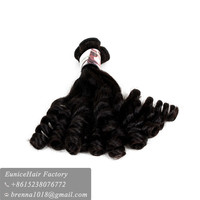 2017 Best selling products ombre sexy anty fumi hair,top quality virgin fumi hair snaily curl spring curl