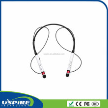 Unique Neckband Wireless earphone for mobile phone ,Stereo Bluetooth headphone for Sports, bluetooth headset