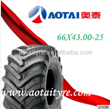 chinese double coin advance heavy dump agricultural monster truck tire 66x43.00-25