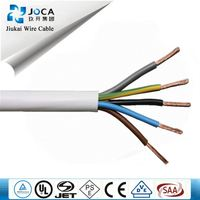 H05vv-F 3G1.5Mm2 Power Cords 3 Core Flexible Pvc Cable Copper Wire