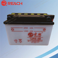 Hot Sale China 12V Dry Cell Motorcycle Battery 4Ah 5Ah 6Ah 7Ah 9Ah Cheap Price