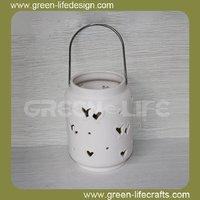 With handle lantern bulk candle holder