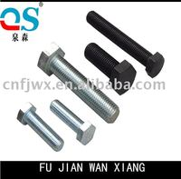 Bulldozer track shoes bolt and nut with high tensile nut and bolt