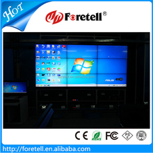 55 inch Newest LED Backlight Ultra Narrow Bezel LCD Video Wall,3.5mm bezel
