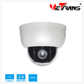 Middle Sped Dome IP Camera IPPTZ910-2.0MP 3x Optical Zoom Pan Tilt H.264 Network IP Camera Mini Dome Camera