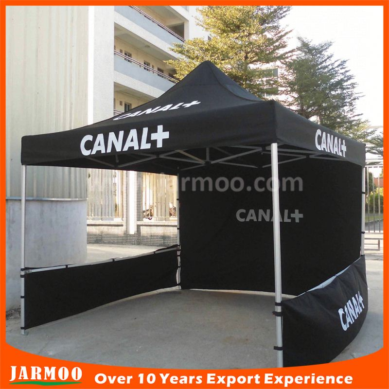 folding screen printing aluminum popup canopy tent for outdoor advertising