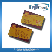 Shenzhen supplier Competitive price credit card size ntag203 rfid nfc CARD