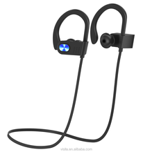 2017 New Waterproof Headset!stereo sport bluetooth headset,foldable noise cancelling OEM brand wireless bluetooth headphone