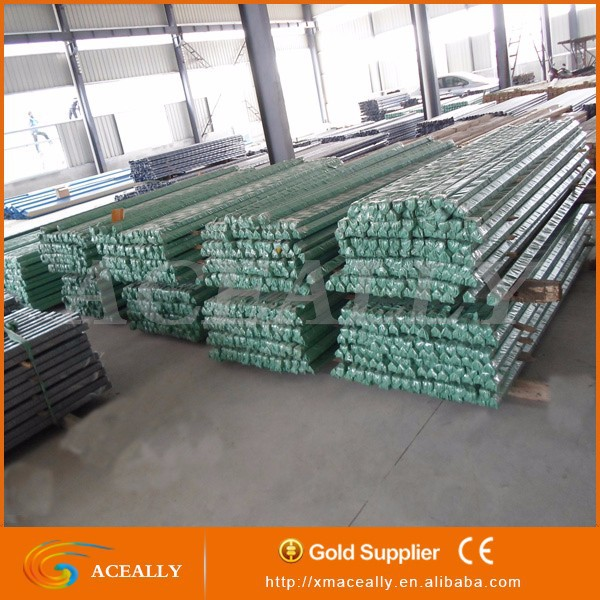 steel slotted angle iron powder coated