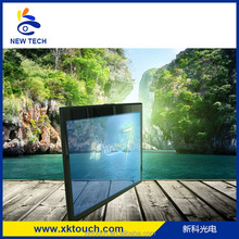 15 inch transparent touch screen LCD monitor for advertising