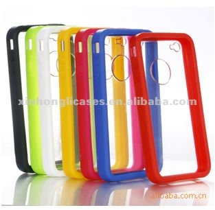Rainbown color case back cover for iPhone 4 i4s, for iPhone accessory