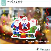 CUSticker Custom Holiday Decoration Window Decal, OEM/ODM Supply Window Static Cling Sticker