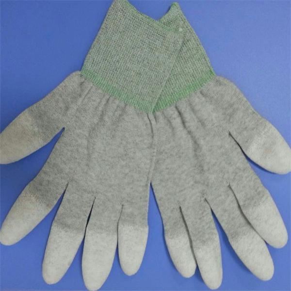 High Quality Low Price Antistatic/ESD Nylon Carbon Fiber ESD Hand Gloves For Safety Inspection